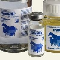 травматин для собак